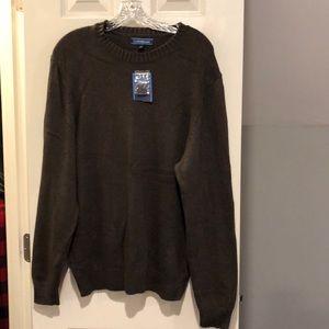 Croft and Barrow Brown Sweater